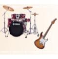 ドラム・ベースなど